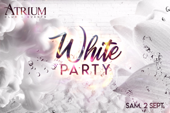 White Party le Samedi  2 Septembre 2017